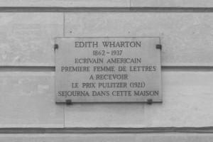 Edith Wharton Plaque