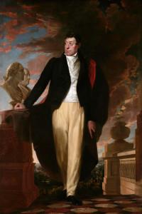 Portrait of Lafayette by Samuel Morse.