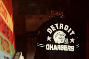 [Detroit Chargers jacket]