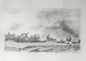 A sketch of a field.